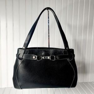Kate Spade Black Leather Handbag Shoulder Bag